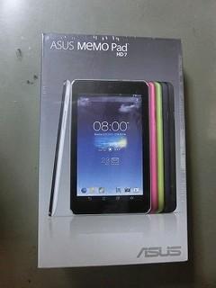 タブレットASUS MEMO Pad HD7を買ったよ♪