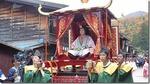 奈良井宿の観光をしながら皇女和宮の行列を見学